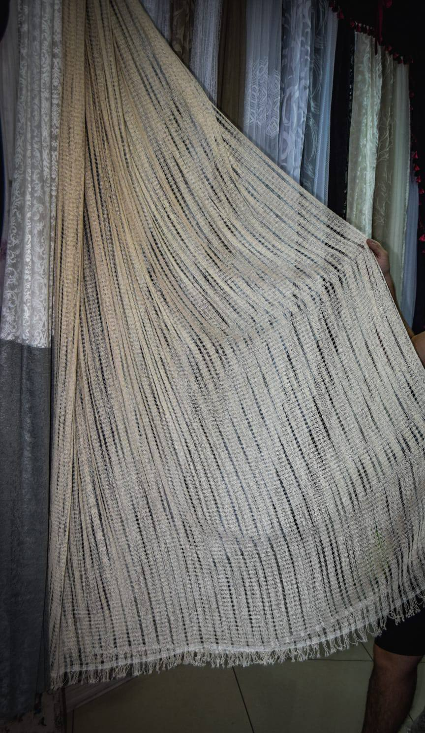 Koncana krem zavesa